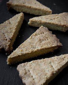 Vegan Rosemary and Lemon Shortbread by Monica Shaw