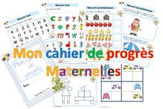 Carnet des progrès en maternelle - dys é moi Zazou et Madel