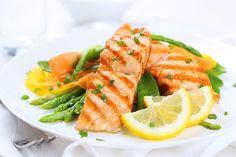 7 day shredding meal plan salmon and asparagus