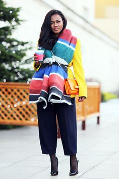 Style is my thing, Soraya de Carvalho.  I adore everything about her.