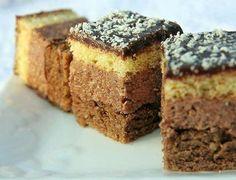 Fini, sitni kolačić koji može biti poslužen na bilo kojem slavlju. Kora: 6 jaja 120 gr šećera 65 gr brašna 70 gr mlevenih oraha 1/2 kašike kakaoa 1/2 kesice praška za pecivo Krem: 300 gr margarina 4 jaja 100 ml mleka 10 kašika šećera 1 kašika brašna 1 kašika kakaoa 1 1/2 šolja oraha,…