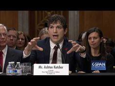 Ashton Kutcher FULL OPENING STATEMENT (C-SPAN) - YouTube