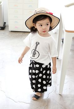 Check out this product on Alibaba.com APP Noble Fairy Children Wear Guitar Graphic Cotton Printed Girl's Kids T-shirt Tee