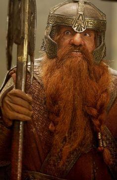 "Middle-earth: Gimli (John Rhys-Davies), ""The Lord of the Rings. Legolas, Aragorn, Thranduil, Gandalf, Lord Of Rings, Fellowship Of The Ring, The Hobbit Movies, O Hobbit, J. R. R. Tolkien"