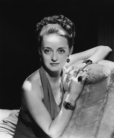 Bette Davis, photographed by George Hurrell (1938)