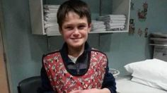 Kyle Mcgillivray, 10, was found safe and well after a night out in the open.