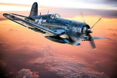 The Flight Home Art Print by JC Findley. All prints are professionally printed, packaged, and shipped within 3 - 4 business days. Choose from multiple sizes and hundreds of frame and mat options. Ww2 Aircraft, Fighter Aircraft, Military Aircraft, Fighter Jets, Aircraft Images, Fighter Pilot, F4u Corsair, Airplane Art, Airplane Fighter