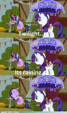 My Little Pony: Friendship is Magic: Twilight Sparkle and Rarity Meme