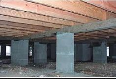 Different methods of pier and beam foundation including for Slab vs crawl space