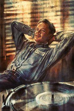 """Tim Robbins as Andy Dufresne in """"The Shawshank Redemption"""" Pulp Fiction, Andy Dufresne, Die Verurteilten, Tim Robbins, Arte Nerd, Inglourious Basterds, The Shawshank Redemption, Shashank Redemption, Alice"""