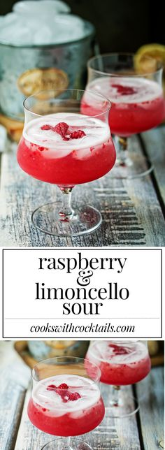 Raspberry & Limoncel