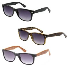 dd32401d351e GAMMA RAY 3 Pack of Vintage Style Bifocal Sunglasses 3.00 Magnification  Readers (eBay Link)