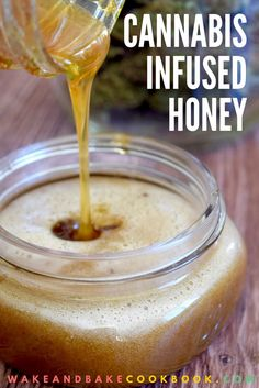 Cannabis Infused Honey Tincture Video & Recipe :http://www.wakeandbakecookbook.com/cannabis-infused-honey-tincture-video-recipe/