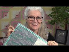 How to Sew Faux Flange Quilt Binding - YouTube