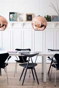 ELLE DECO - Tanja Vibe's apartment in the heart of Copenhagen. #makeyourselfathome