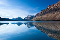 _MG_4130 - Morning at Bow Lake. ©Jerry Mercier