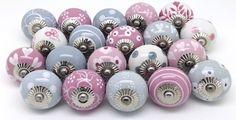 Ceramic Door Knobs, Drawer Knobs, Kitchen Cupboard Door Knobs | These Please