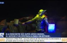 EN VIDEO - L'univers Marvel en spectacle à l'Accor Hotels Arena - SFR News