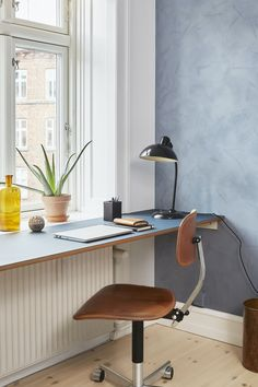 Home Office Setup, Apartment Inspiration, Minimalist Home, Furniture, Interior, Home Office, Home Decor, House Interior, Home Deco