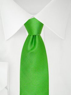Hellgrüne Krawatte