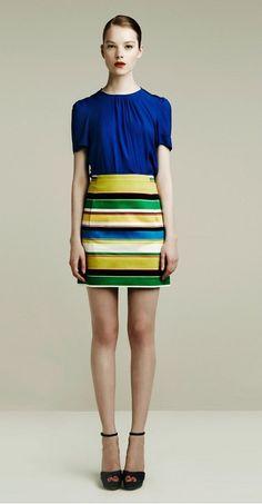 Zara Look Book Color Blocking 5
