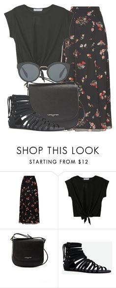 """Outfit #1665"" by lauraandrade98 on Polyvore featuring RED Valentino, WithChic, Lancaster, JustFab and Prada"