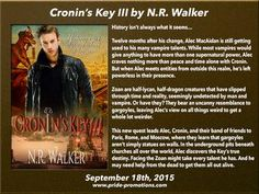 Cronin's Key III is out and on tour as well!