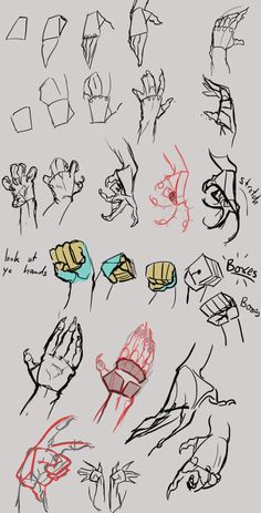 Fabulous Drawing On Creativity Ideas. Captivating Drawing On Creativity Ideas. Hand Drawing Reference, Art Reference Poses, Anatomy Reference, Drawing Techniques, Drawing Tips, Drawing Hands, Creature Drawings, Poses References, Furry Drawing
