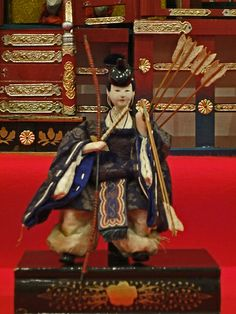 Japanese doll Hina Doll -  Archer