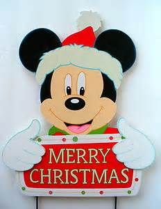 Mickey mouse dressed as santa CHRISTMAS yard by ...
