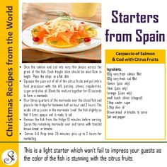 Christmas Cooking... Starting with Starters!