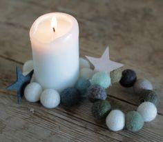 DIY – dekoration med filtkugler