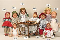 Antique Kathe Kruse dolls