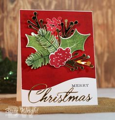 Crafting with Betty: Muse Christmas Visions Challenge CVC29!