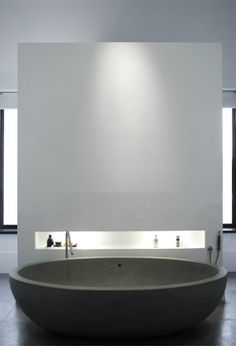 Modern bathroom inspiration bycocoon.com | minimalist bathroom design products by COCOON | bathroom design & renovation | villa and hotel design projects | Dutch Designer Brand COCOON   | Boffi bath tub and Boffi minmal bath mixer Piet Boon® Villa, North of Amsterdam