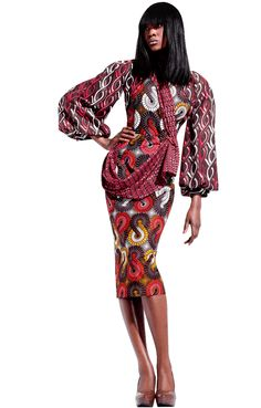 Fabric and prints by Vlisco