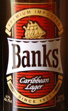 Banks Caribbean Lager  Score: 5.13 (out of 10)