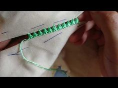 خيطي جلابتك بملاقية/الراندة المغلف /سهلة وخفيفة /للمبتدأت - YouTube Salwar Neck Designs, Dress Neck Designs, Coat Patterns, Stitch Patterns, Sewing Patterns, Hand Embroidery Tutorial, Embroidery Stitches, Needle Lace, Satin Stitch