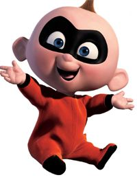 Jack-Jack from The Incredibles - disney Photo #EasyPin