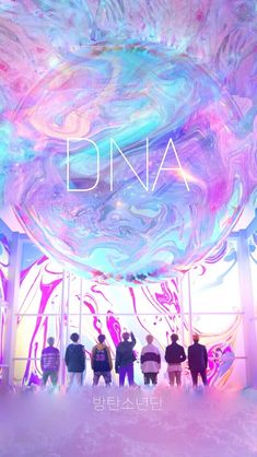 DNA.....BTS wallpaper
