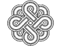 Beautiful Celtic Knot Coloring Pages