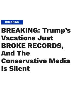 Trump and his Entitled Grifter Family have spent more of Taxpayers Dollars (Me&You) in 3 short months than The Obamas did for all of 2016!!! They are a Ripping through Our Hard Earned Tax Dollars like there is no bottom!! Can't Stand these people!!