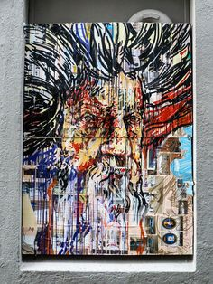 Street art, graffiti, Bergen, Norway