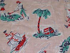 vintage Pirates cloth