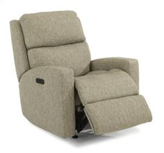 290051H in  by Flexsteel in Plymouth, WI - Catalina Fabric Power Rocking Recliner with Power Headrest