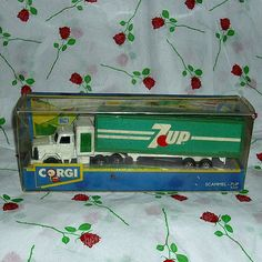 7 Up Diecast Vehicle Corgi Model Car by WelshGoatVintage on Etsy - SOLD OUT