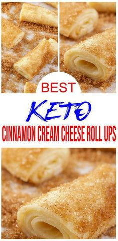 BEST Keto Cinnamon Cream Cheese Roll Ups Low Carb Keto Cinnamon Cream Cheese Re. BEST Keto Cinnamon Cream Cheese Roll Ups Low Carb Keto Cinnamon Cream Cheese Recipe Quick and Easy Ketogenic Diet Idea loss plans meal Best Dessert Recipes, Low Carb Desserts, Easy Desserts, Low Carb Recipes, Dinner Recipes, Easy Low Carb Dessert, Easy Keto Recipes, Breakfast Recipes, Breakfast Cups