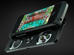 The Razer Junglecat is designed with a D-pad, action buttons and bumpers on a sliding case that is light weight and ultra-slim for gaming on the go. GetdatGadget.com/razer-junglecat-best-ios-game-controller-yet/
