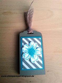 Kleine Verpackung für einen USB-Stick