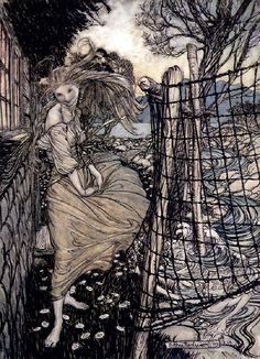 Undine by Arthur Rackham